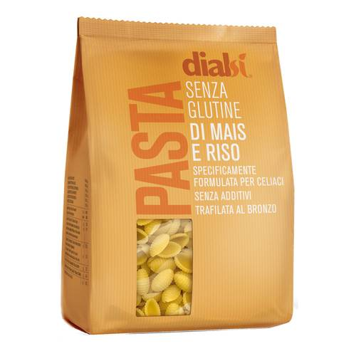 Image of Dialsi Chifferi Con Farina Di Mais E Riso Pasta Senza Glutine 400g 971974062