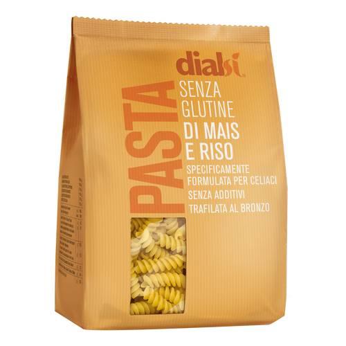 Image of DIalcos Fusilli Con Farina Di Mais E Riso Pasta Senza Glutine 400g 971974086