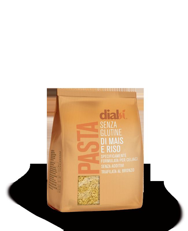 Image of Dialsì Pasta Di Mais E Riso Stelline Senza Glutine 300g 972165296