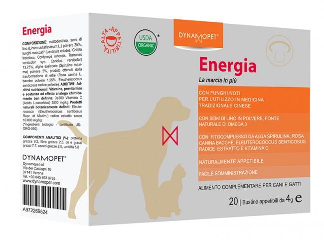 Image of Dynamopet Energia La Marcia in più Integratore Alimentare 20 Bustine x4g 972269524