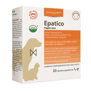 Image of Dynamopet Epatico Fegato Sano Integratore Alimentare 20 Bustine x1g 972269575