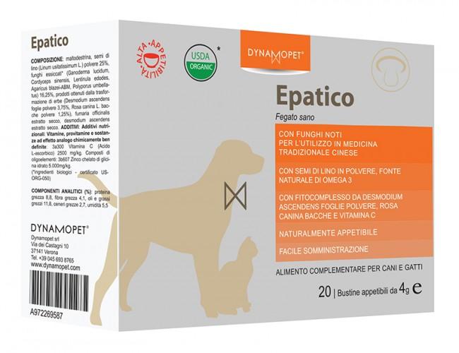 Image of Dynamopet Epatico Fegato Sano Integratore Alimentare 20 Bustine x4g 972269587