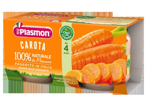 Image of Plasmon Omogenizzati Carota 2x80g