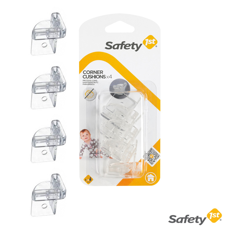 Image of Safety 1st Paraspigoli Trasparenti e Flessibili 4 Paraspigoli