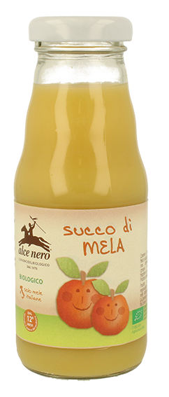 Image of Alce Nero BabyFood Succo di Mela Bio con Vitamina C 200ml 972516850
