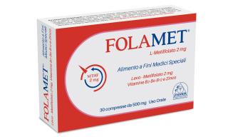 Image of A.B. Pharm Folamet Integratore Alimentare 30 Compresse 972525240