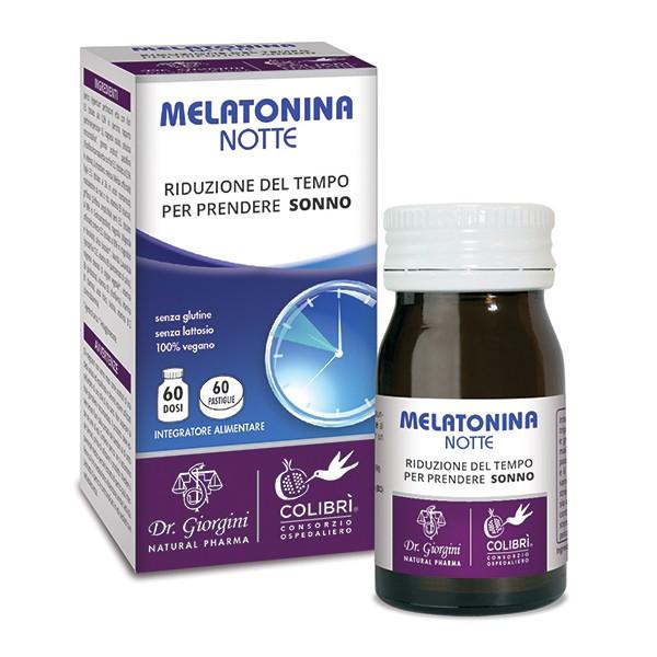 Image of Melatonina Notte Integratore Alimentare 60 Pastiglie 972533323