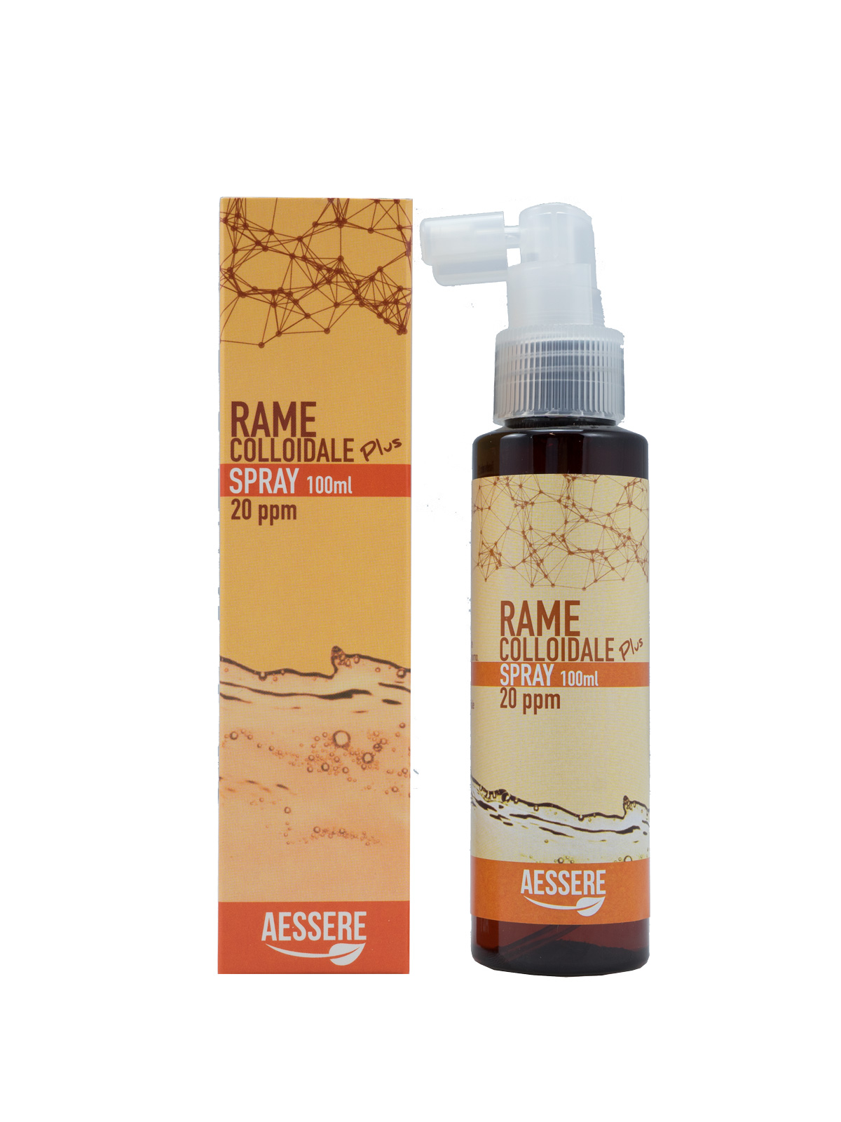 Image of Aessere Rame Colloidale Plus Spray 20Ppm 100ml 972686190