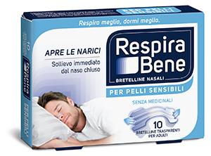 Image of GSK RespiraBene Bretelline Nasali Trasparenti 10 Cerotti 972708844