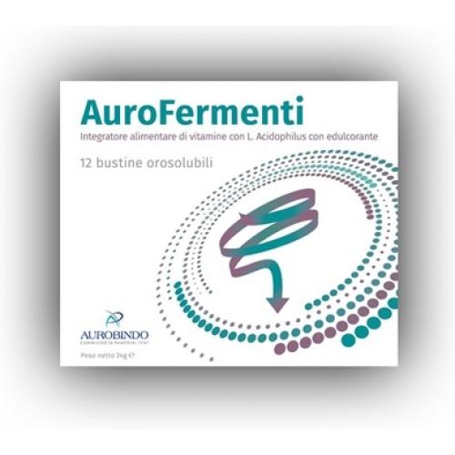 Image of Aurobindo Aurofermenti Integratore Alimentare 12 Bustine 24g 972763217