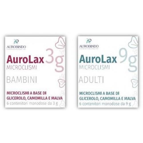 Image of Aurobindo Aurolax Microclismi Bambini 6 Pezzi 973148176