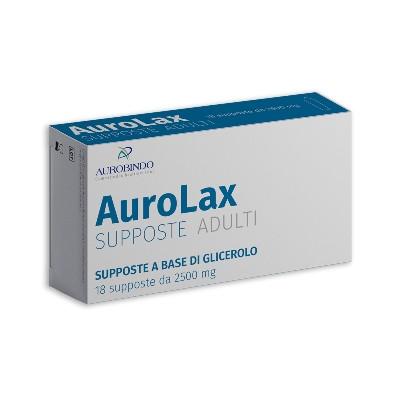 Image of Aurobindo Aurolax Supposte 2500mg 18 Pezzi 973148202