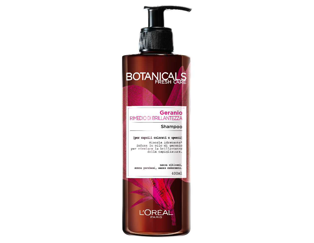 Image of Botanicals Fresh Care Shampoo Protezione Colore Geranio 400ml