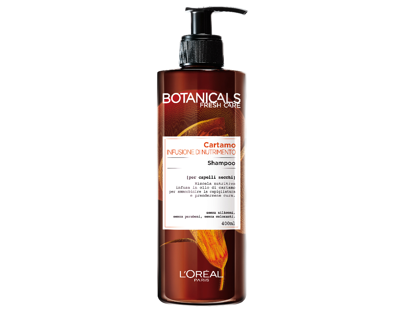 Image of Botanicals Fresh Care Shampoo Nutriente con Olio di Cartamo 400ml