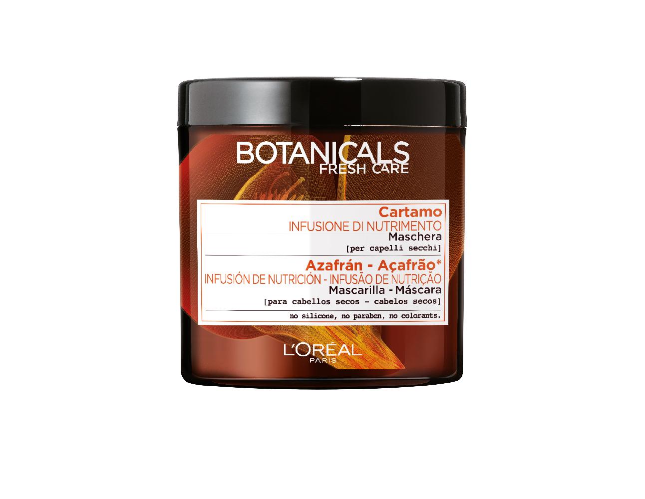 Image of Botanicals Fresh Care Maschera Nutriente con Olio di Cartamo 200ml