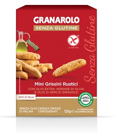 Image of Granarolo Mini Grissini Rustici Senza Glutine 125g 973210899
