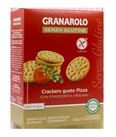 Image of Granarolo Cracker Gusto Pizza Senza Glutine 125g 973210925