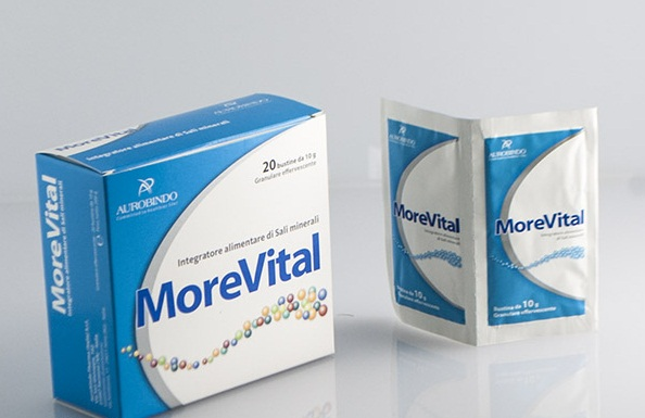 Image of Aurobindo Morevital Integratore Alimentare 20 Bustine 973262797