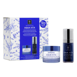 Image of Apivita Aqua Vita Advanced Moisture Revitalizing Limited Edition Set for Normal/Dry Skin 50+30ml 973291127