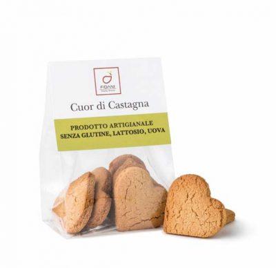 Image of Fidani Food Cuor Di Castagna Senza Glutine e Lattosio 50g 973295013