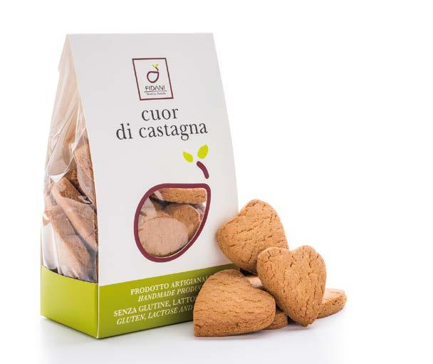 Image of Fidani Food Cuor Di Castagna Senza Glutine e Lattosio 200g 973295025