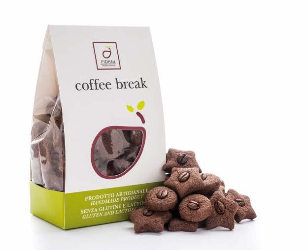 Image of Fidani Food Coffe Break Senza Glutine e Lattosio 200g 973295064