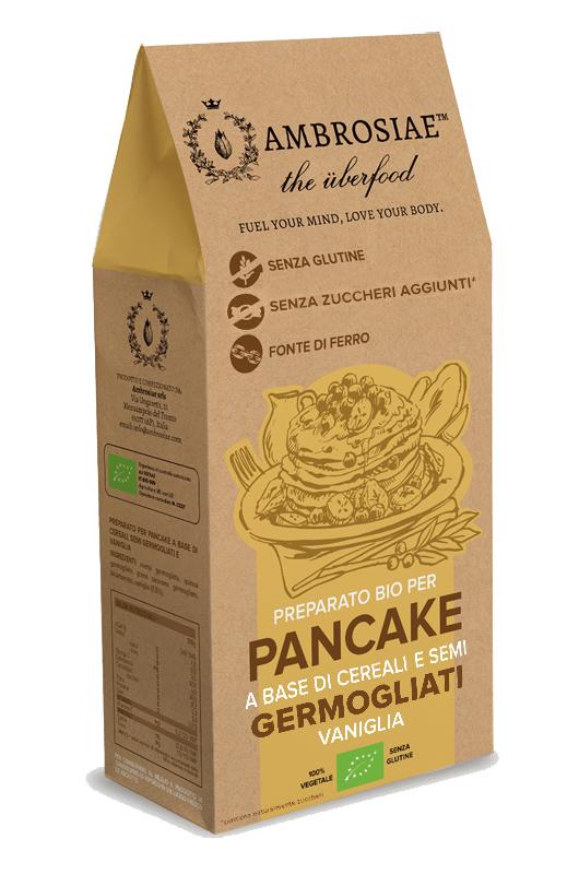 Image of Ambrosiae Preparato Bio Per Pancake Senza Glutine 200g 973321932
