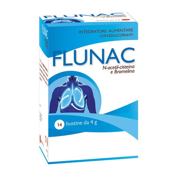 Image of Aqua Viva Flunac Integratore Alimentare 14 Bustine Da 4g 973498355