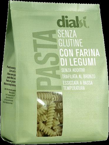 Image of Dialsi Fusilli Pasta Con Farina Di Piselli E Riso Senza Glutine 240g 973605342