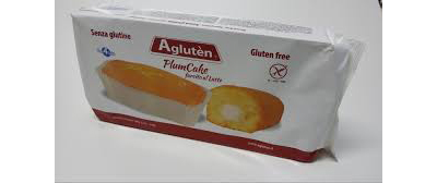 Image of Agluten Plum Cake Farcito Con Crema Al Latte Senza Glutine 160g 973622778