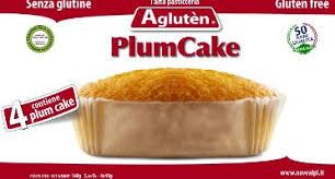Image of Agluten Plum Cake Farciti Con Crema Di Latte Senza Glutine 40g 973622780
