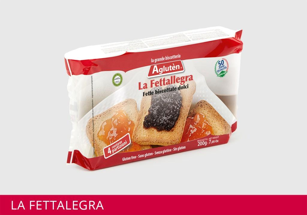 Image of Agluten La Fettallegra Fette Biscottate Dolci Senza Glutine 200g 973622816