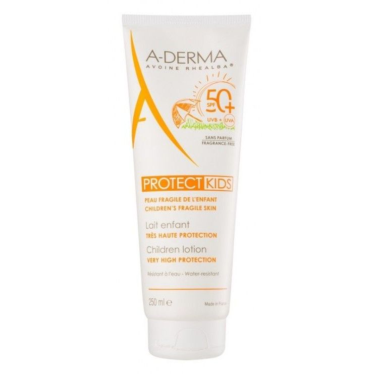 Image of Aderma A-d Protect Kids Latte Solare SPF 50+ 250ml 973644368