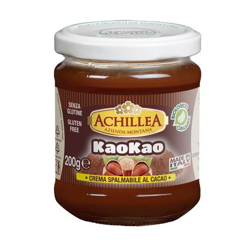 Image of Achillea KaoKao Crema Di Nocciole E Cacao Biologico 180g 973661162