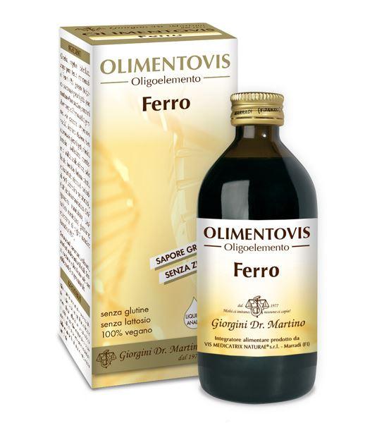 Image of Dr.Giorgini Ferro Olimentovis Intgratore Alimentare 200ml 973662137