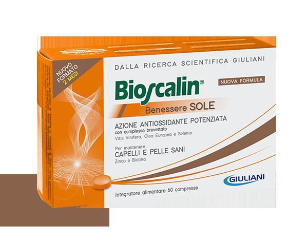 Image of Bioscalin Benessere Sole Integratore Alimentare 60 Compresse 973916505