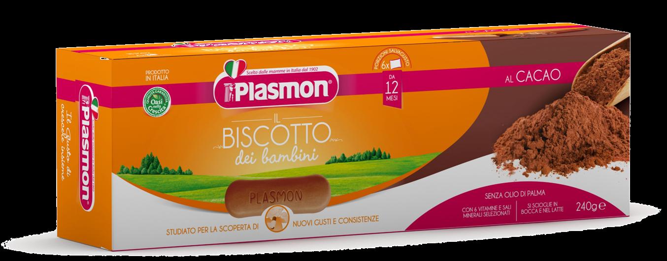 Image of Plasmon Biscotti Al Cacao 240g