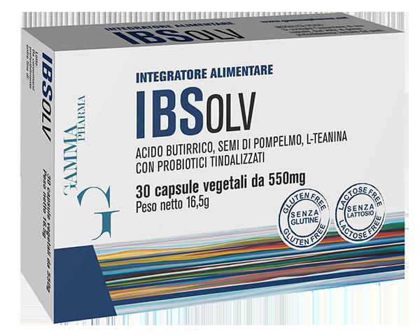 Image of Gammapharma Ibsolv Integratore Alimentare 30 Compresse 974008106