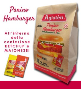 Image of Agluten Panino Hamburger Senza Glutine 160g 974025948