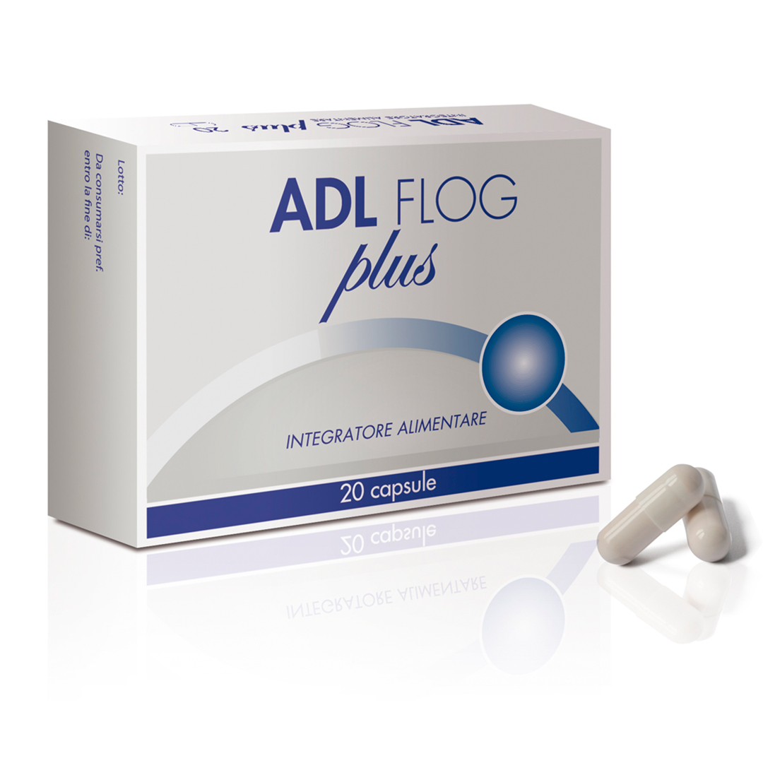 Image of Difass Adl Flog Plus Integratore Alimentare 20 Capsule 974025951