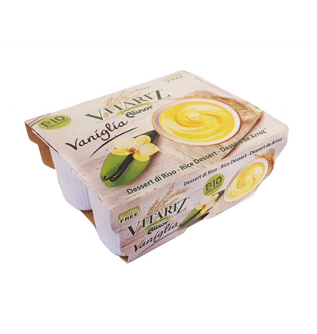 Image of Alinor Vitariz Dessert Di Riso Alla Vaniglia Riso Biologico 4x100g 974094118