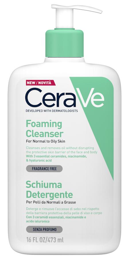 Image of CeraVe Schiuma Detergente Viso Corpo 473ml 974109252