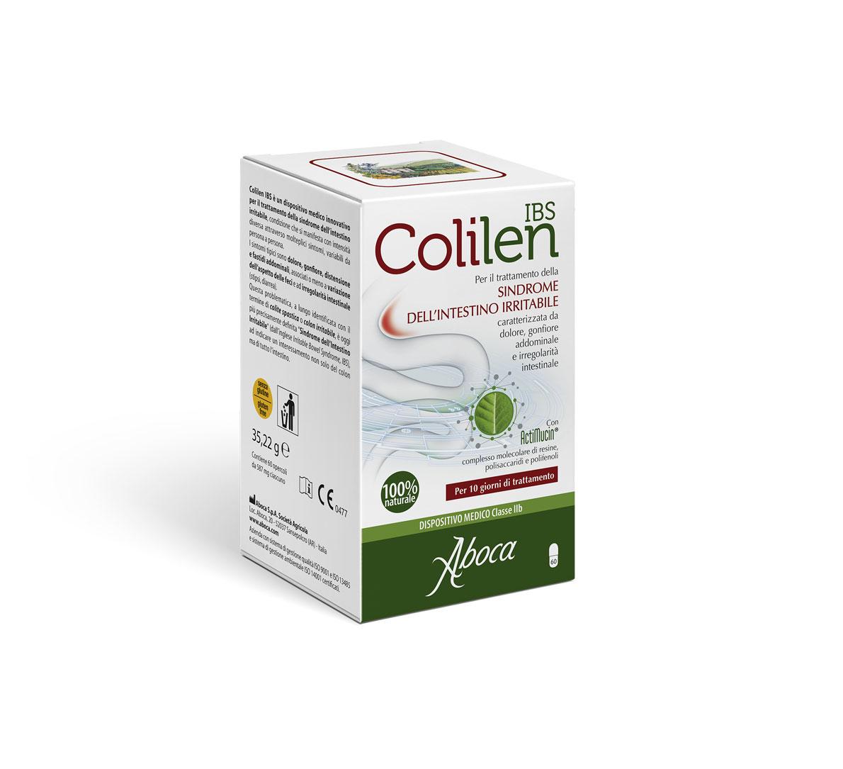 Image of Aboca Colilen Ibs Per L'Intestino Irritabile 60 Opercoli 974159446