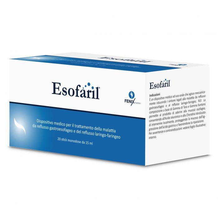 Image of Fenix Pharma Esofaril Integratore Alimentare 20 Buste Da 15ml 974379479