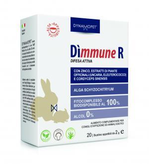Image of Dynamopet Dìmmune R Difesa Attiva Integratore Alimentare 20 Bustine x2g 974383465