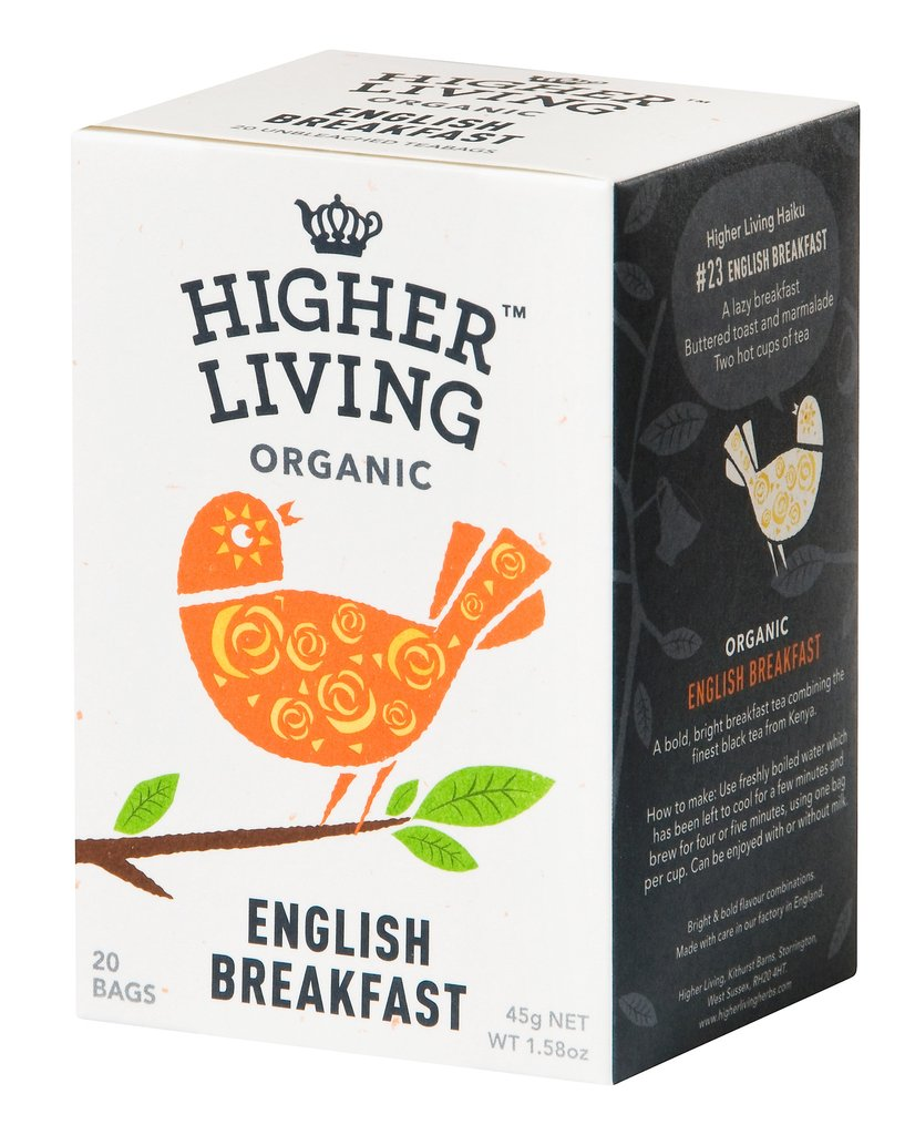 Image of Higher Living English Breakfast 20 Filtri 974387680