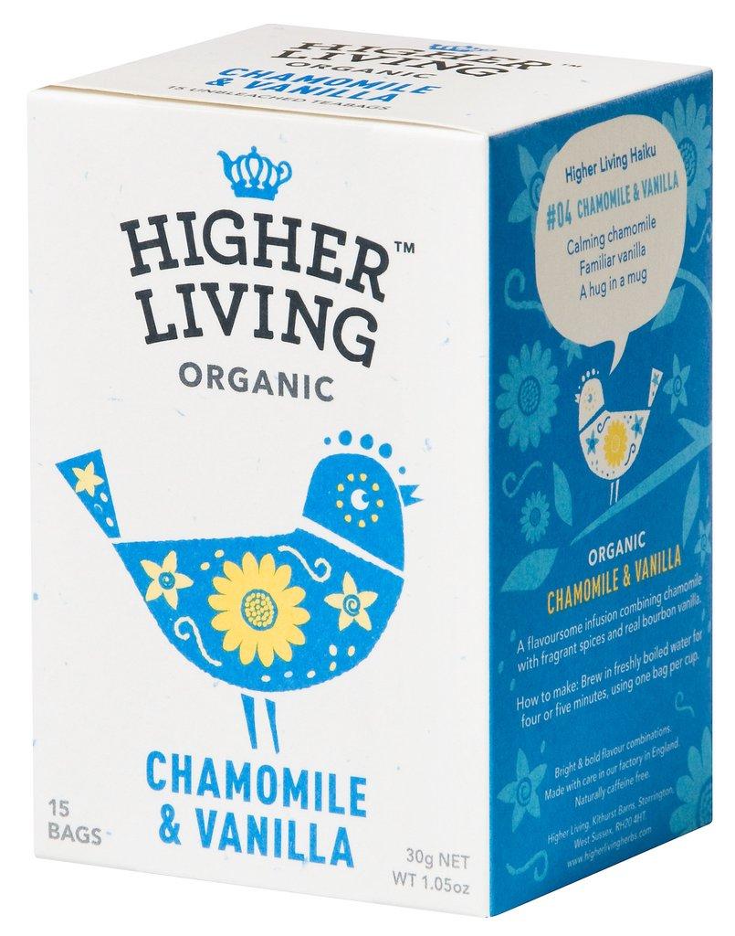 Image of Higher Living Infuso Bio Camomilla/Vaniglia 15 Filtri 974387704