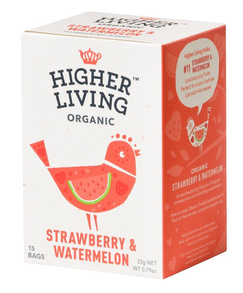Image of Higher Living Infuso Bio Fragola/Anguria 15 Filtri 974387716