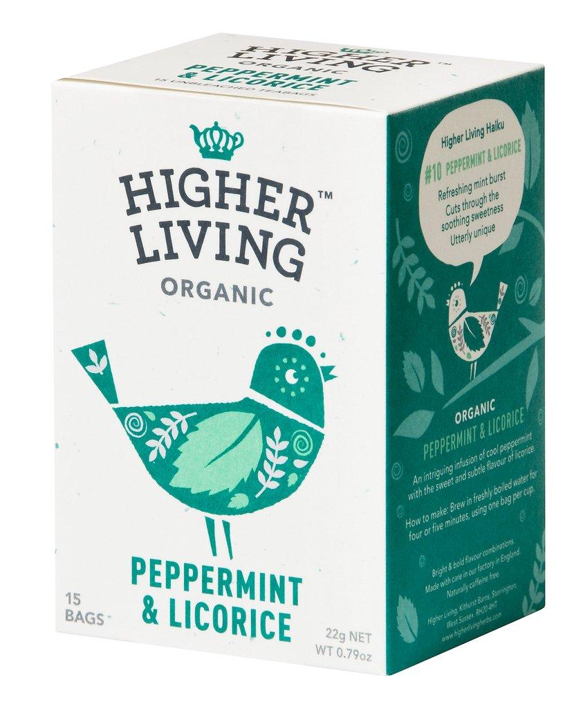 Image of Higher Living Infuso Bio Menta/Liquirizia 15 Filtri 974387742