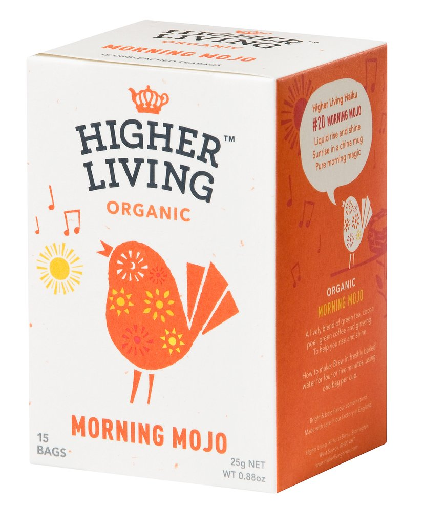 Image of Higher Living Infuso Bio The Verde/Cacao 15 Fitlri 974387781